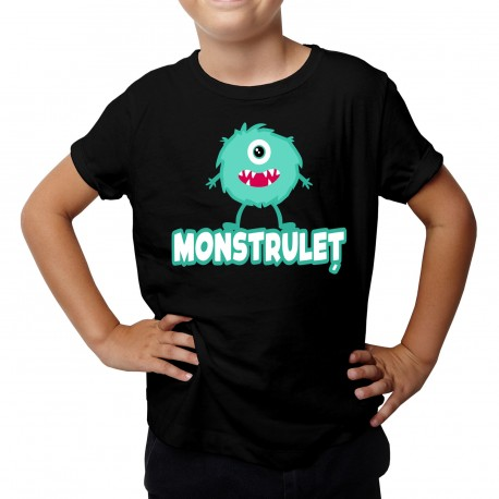 Monstruleț - Tricou pentru copii