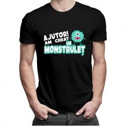 Ajutor! Am creat un monstruleț - T-shirt pentru bărbați