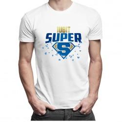 Iubit super - t-shirt pentru bărbați