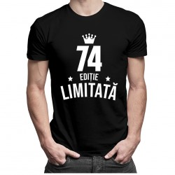 74 ani Ediție Limitată - T-shirt pentru bărbați - un cadou de ziua ta
