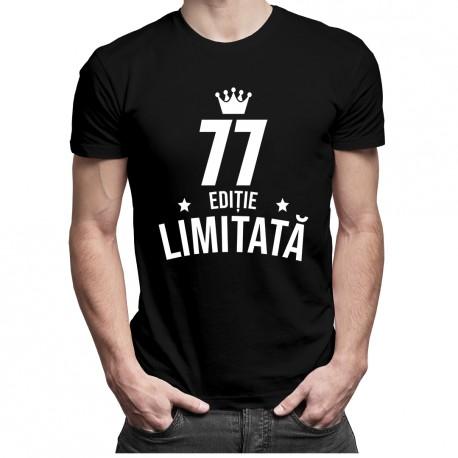 77 ani Ediție Limitată - T-shirt pentru bărbați - un cadou de ziua ta