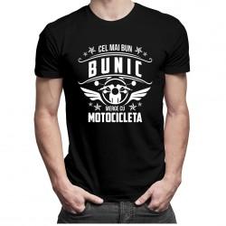 Cel mai bun bunic merge cu motocicleta - T-shirt pentru bărbați