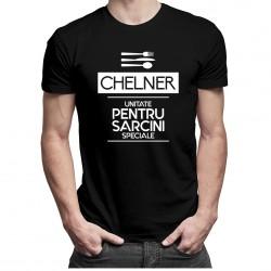 Chelner - unitate pentru sarcini speciale - T-shirt pentru bărbați