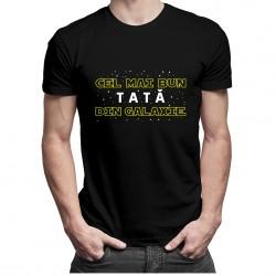 Cel mai bun tată din galaxie - T-shirt pentru bărbați