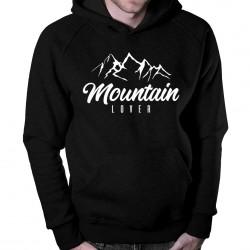 Mountain Lover - bluză cu glugă pentru bărbați
