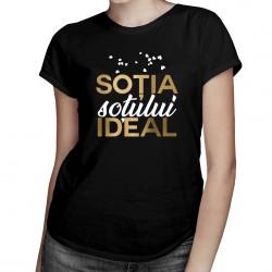 Soția soțului ideal - T-shirt pentru femei