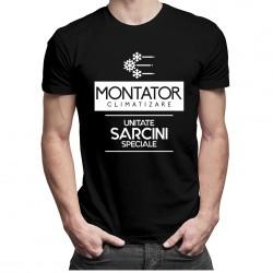 Montator climatizare - unitate sarcini speciale - T-shirt pentru bărbați