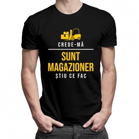 Sunt magazioner - care e superputerea ta? - T-shirt pentru bărbați