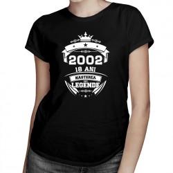 Nașterea unei legende - 18 ani! - T-shirt pentru bărbați și femei
