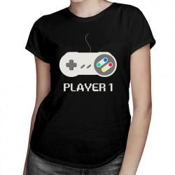 Player 1 v1- T-shirt pentru femei