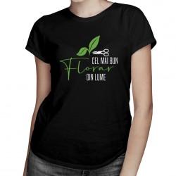 Cel mai bun florar din lume - T-shirt pentru femei