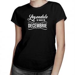 Legendele se nasc în decembrie