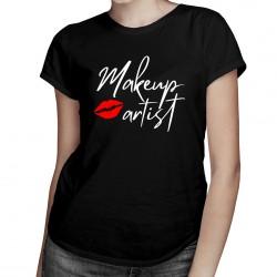 Makeup artist - T-shirt pentru femei