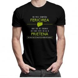 Nu poți cumpăra fericirea - t-shirt pentru bărbați