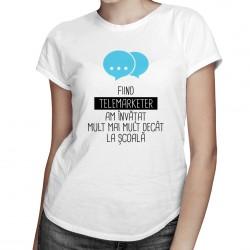 Telemarketer - T-shirt pentru femei
