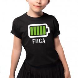 Baterie - fiică - Tricou pentru copii
