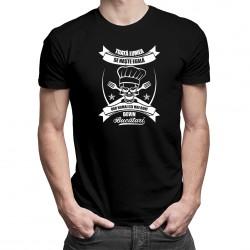Toată lumea se naște egală, dar numai cei mai buni devin bucătari - T-shirt pentru bărbați