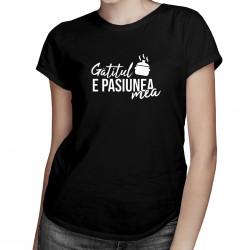 Gătitul e pasiunea mea -T-shirt pentru bărbați